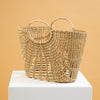 Millie Wicker Tote