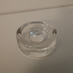 Glass Weight with Easy Grip Knob