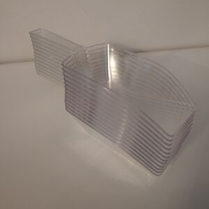 Clear Plastic Scoop
