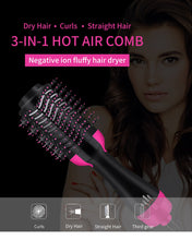 Load image into Gallery viewer, 3 in 1 One Step Hair Dryer multifunctional hair dryer