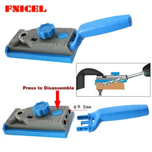 Load image into Gallery viewer, 2 in 1 Genius Woodworking Pocket Hole Positioner Punching Tool