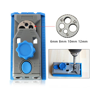 2 in 1 Genius Woodworking Pocket Hole Positioner Punching Tool