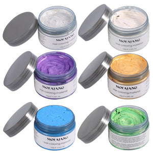 Mofajang 7 Colors Unisex DIY Hair Color mofajang hai rdye wax