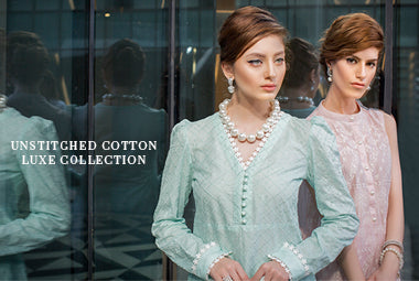 Unstitched Cotton Luxe Collection