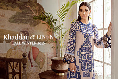 Khaddar and Linen collection 2018