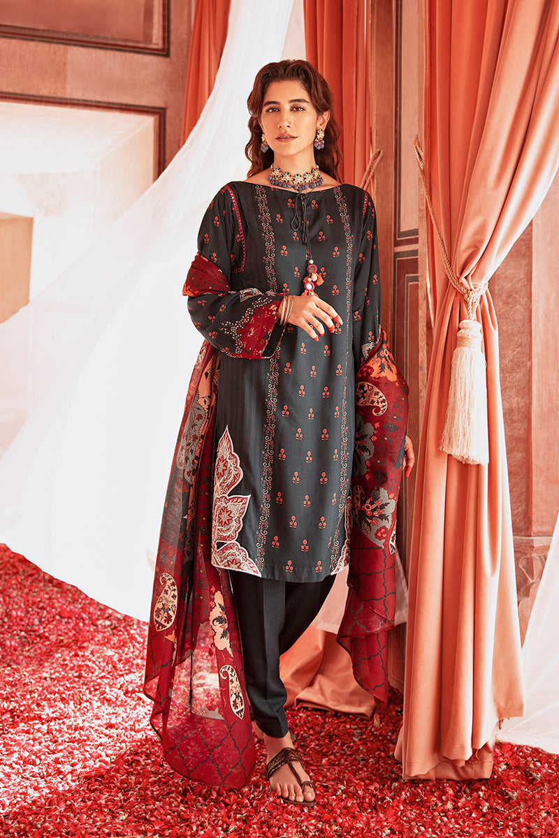 Cross Stitch Online Turquoise Harmony Nur Jahan Collection 2020
