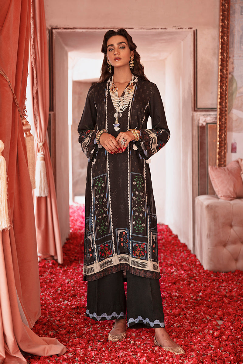 Cross Stitch Online Charcoal Spice Nur Jahan Collection 2020