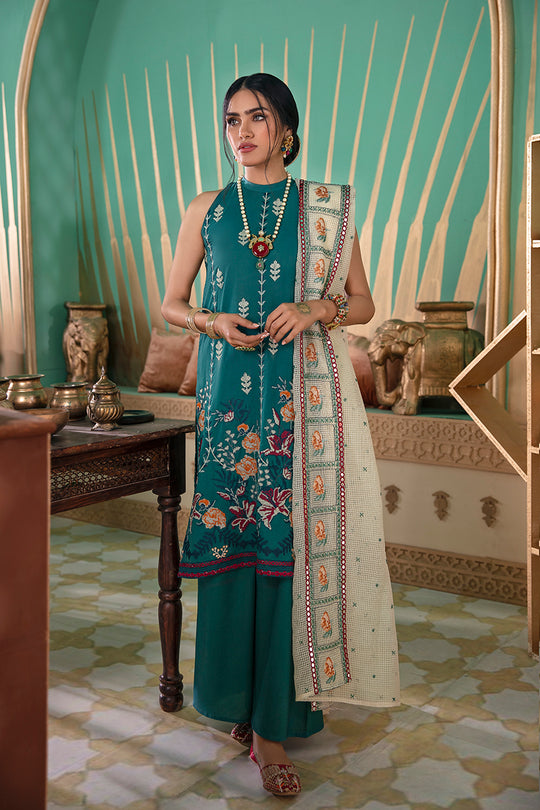Cross Stitch Deep Emerald Eid Collection
