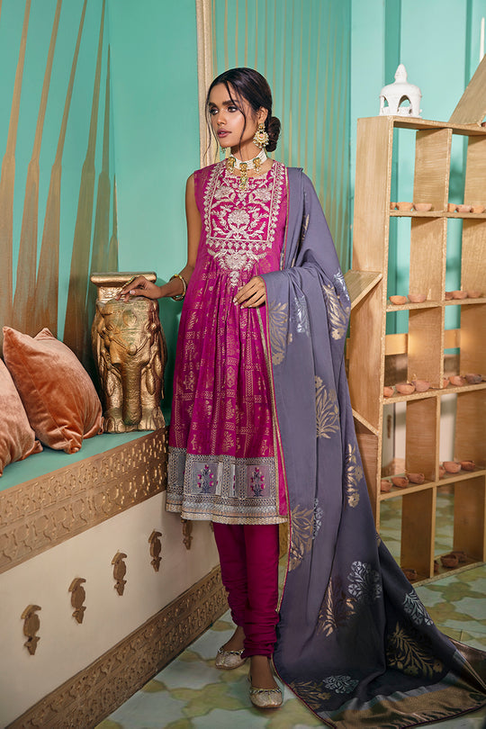 Cross Stitch Dareechah E Gul Eid Collection
