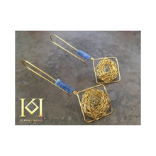 Load image into Gallery viewer, Thia - Sodalite - Earrings