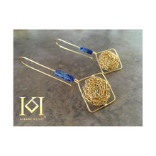 Load image into Gallery viewer, Thia - Lapis Lazuli - Earrings