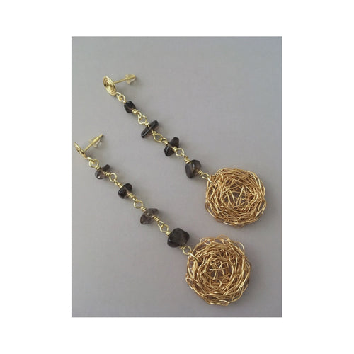 Lupto Medallion Earrings