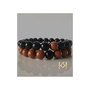 Akua Goldstone Beaded Bracelets