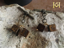 Load image into Gallery viewer, Bronzite Cufflinks