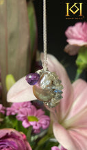 Load image into Gallery viewer, Image 1: Venussa Pendant, Month of February, Aquarius Star sign