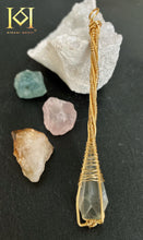 Load image into Gallery viewer, Clear Quartz Crystal Pendant