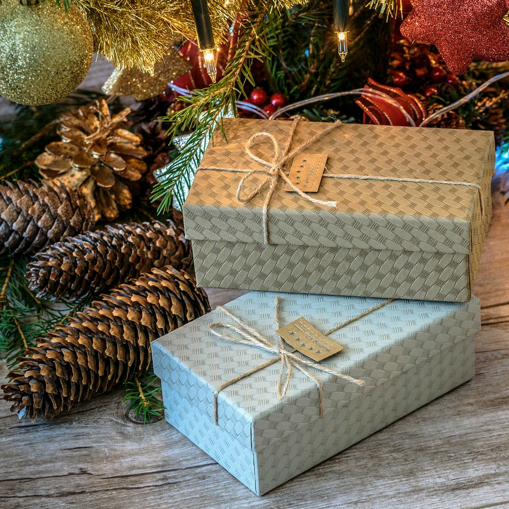 Holiday Season Gifts - Image by Photo Mix from Pixabay
