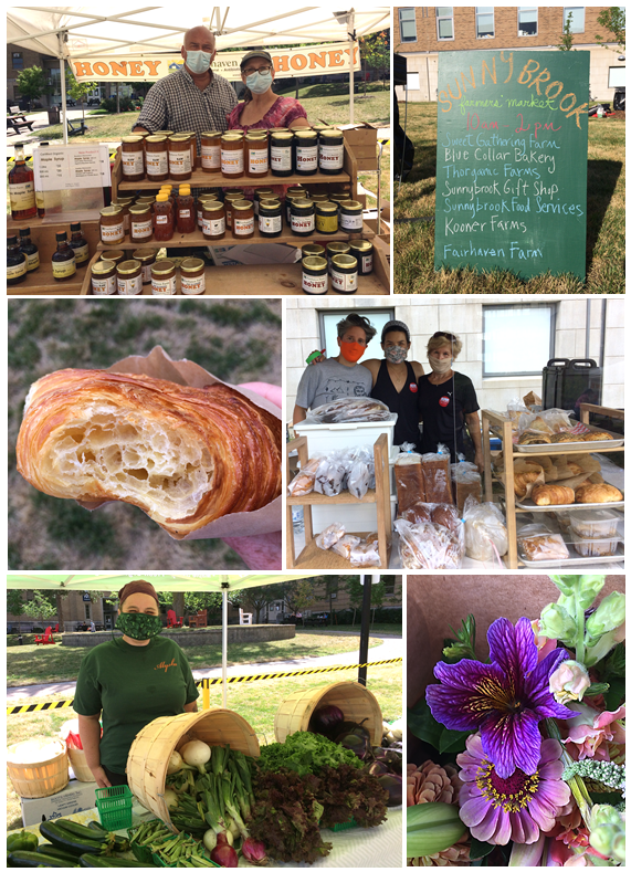 Sunnybrook Farmers Market Fairhaven Farm Blue Collar Bakery Kooner Farm Thorganic Essa Seedlings Sweet Gatherings