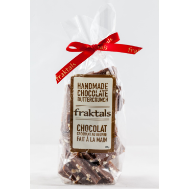 Fraktals One Chocolate Corporation Milk Chocolate Buttercrunch nuts candy