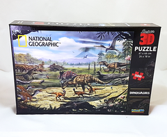 3D National Geographic Dinosaur Puzzle (500pc)