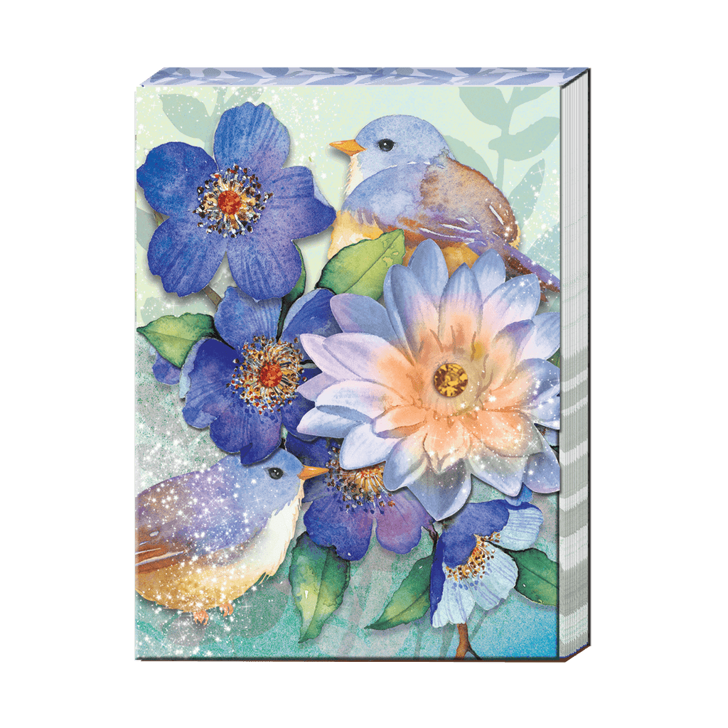 Pocket Notepad: Lotus Birds