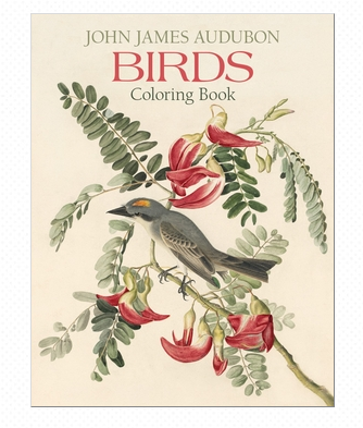 Pomegranate - J.J. Auduban Birds Colouring Book