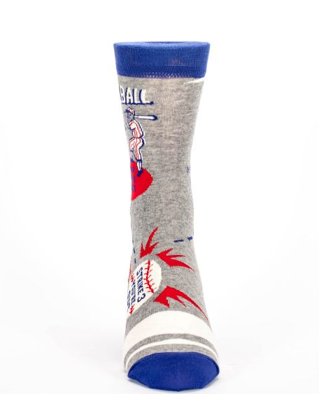 Blue Q - Baseball Men's Socks