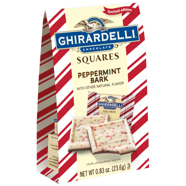 Ghirardelli Peppermint Bark Squares (23.6g)