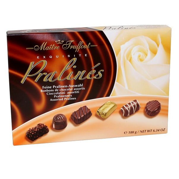 Maître Truffout Exquisite Pralines (180g)