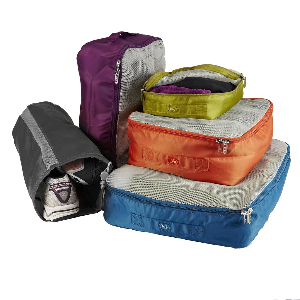 Lug Bags: Cargo 5pc Set (Various Colours) (Drop Ship Only)