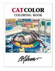B. Kliban Cat Colouring Book