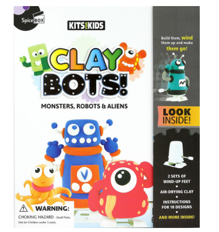 SPICE BOX - Clay-Bots