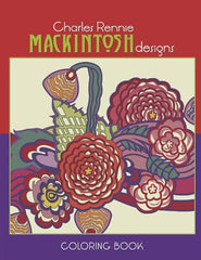Charles Rennie Mackintosh Designs Colouring Book