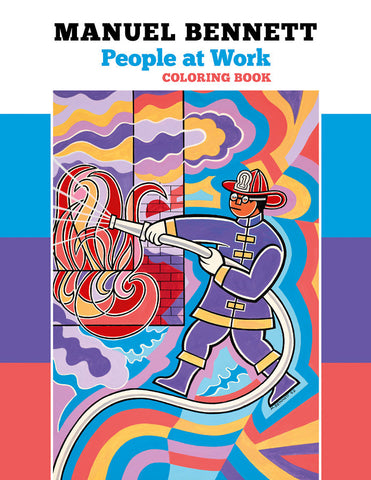 People At Work Colouring Book
