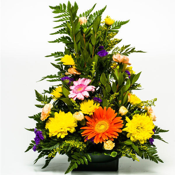 Gerbera and Carnations Floral Arrangements