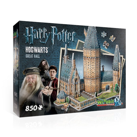 Hogwarts Castle Great Hall - 850pc 3D Puzzle