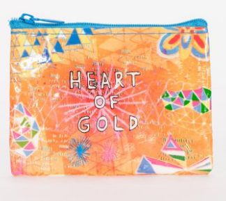 BLUE Q Coin Purse - Heart of Gold