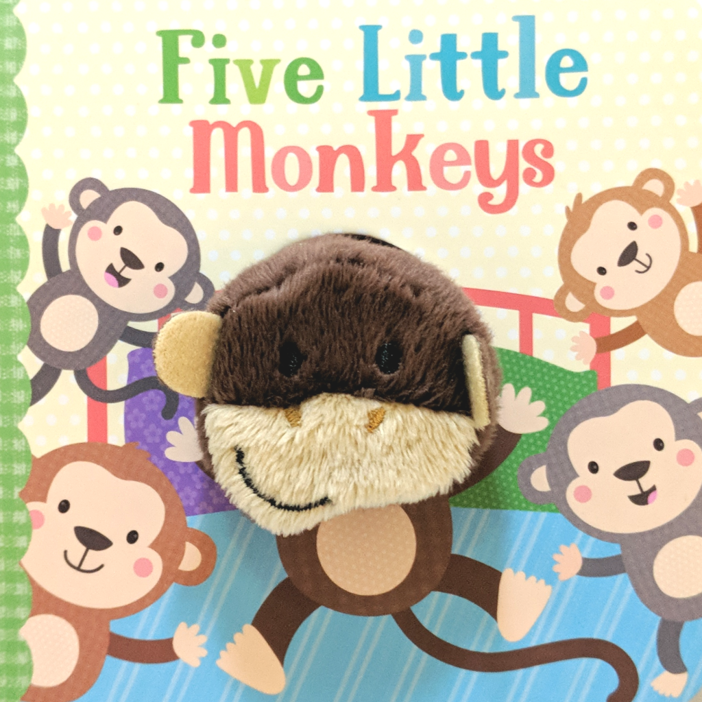 Five Little Monkeys Puppet Board Book