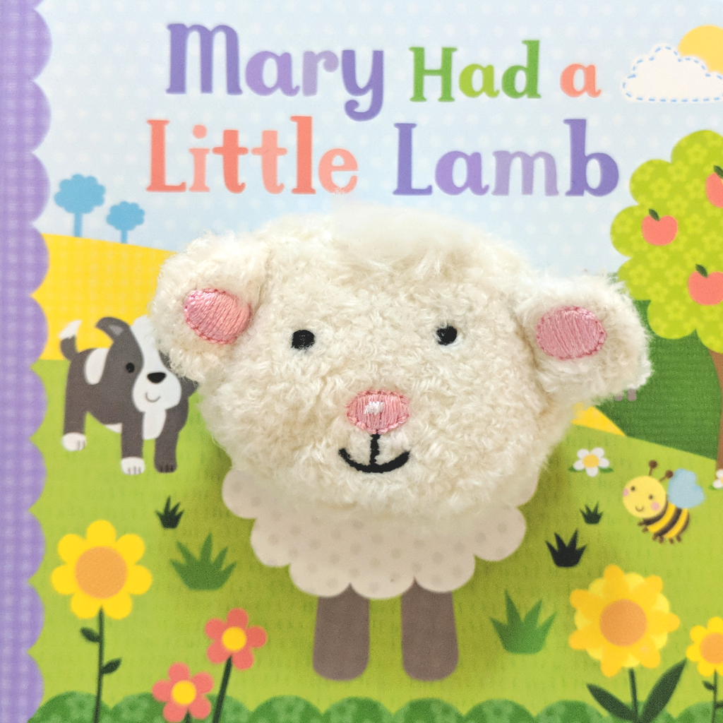 Mary Had a Little Lamb Puppet Board Book