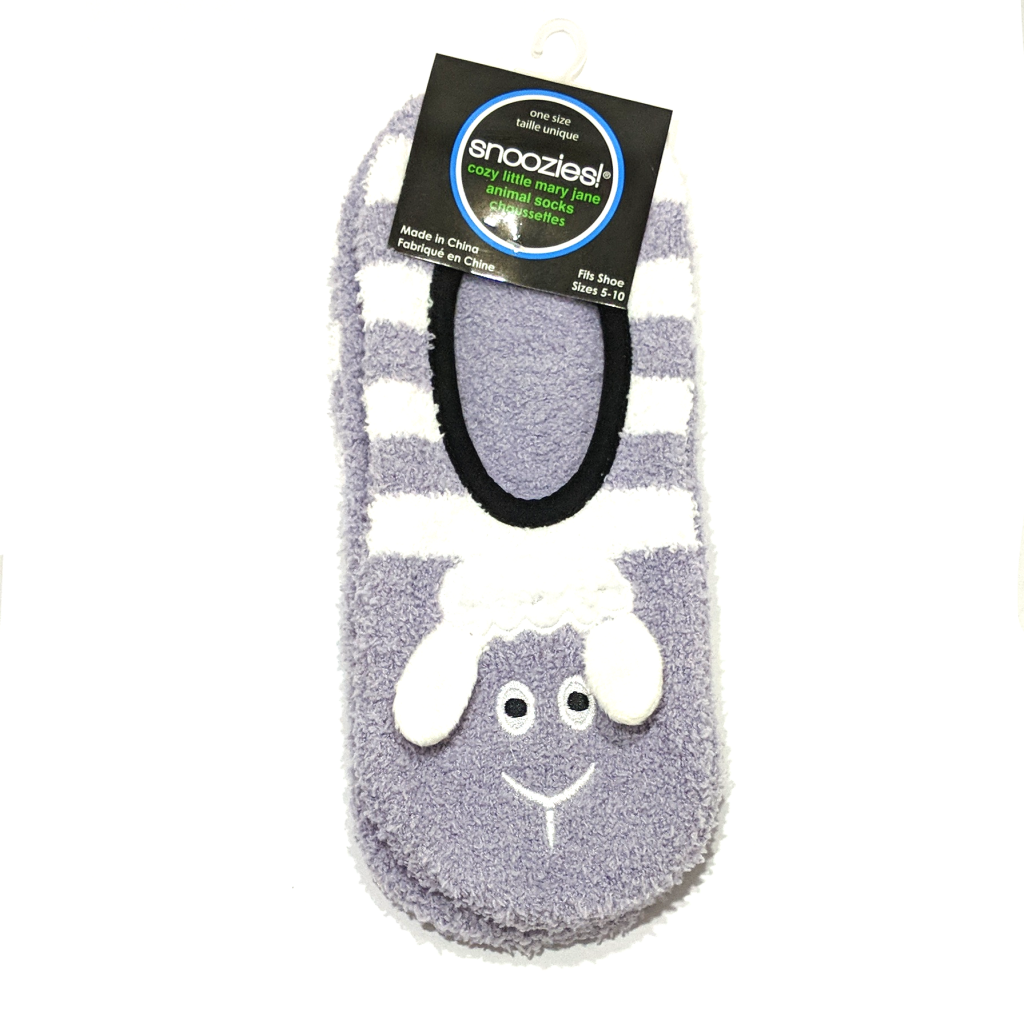 Snoozies Cozy Little Animal Socks: Sheep