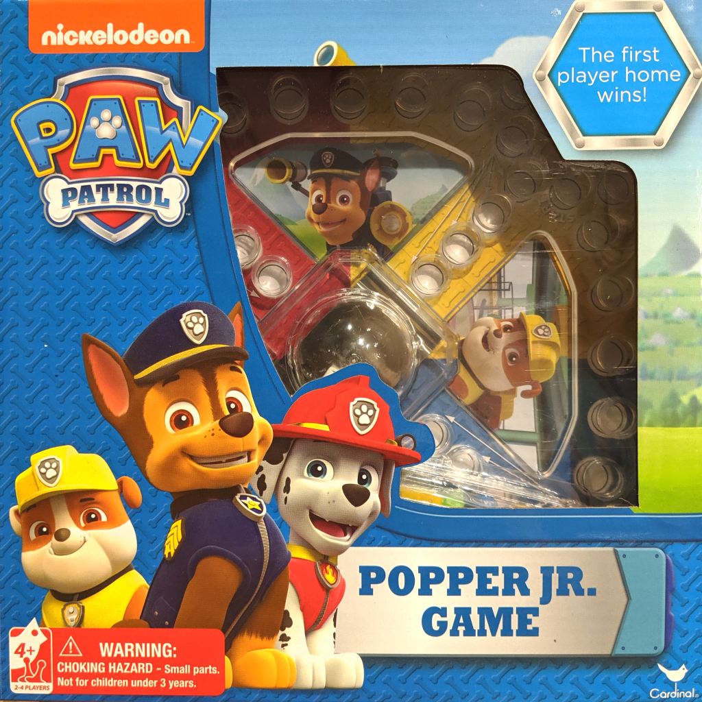 Paw Patrol Popper Jr Game