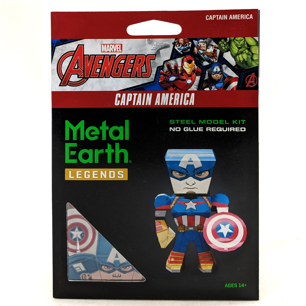 Metal Earth: Captain America
