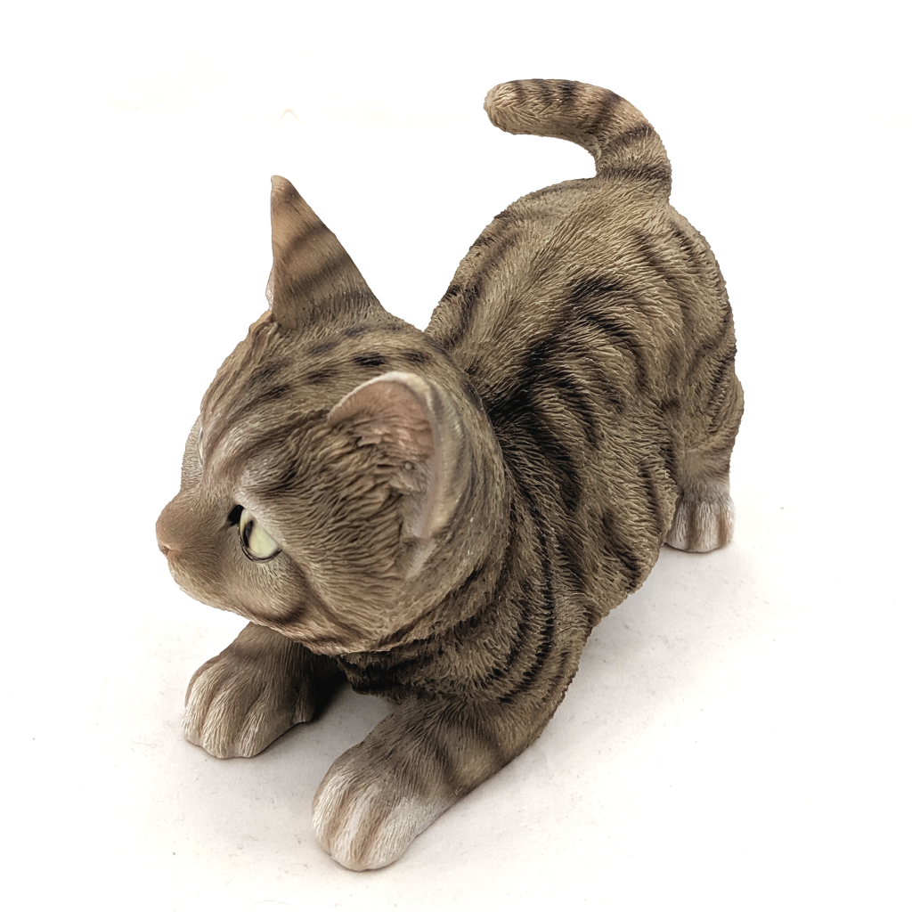 Playful Kitten Figurine