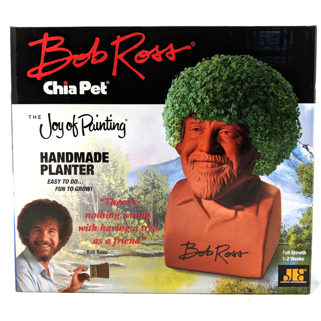 Chia Pet: Bob Ross