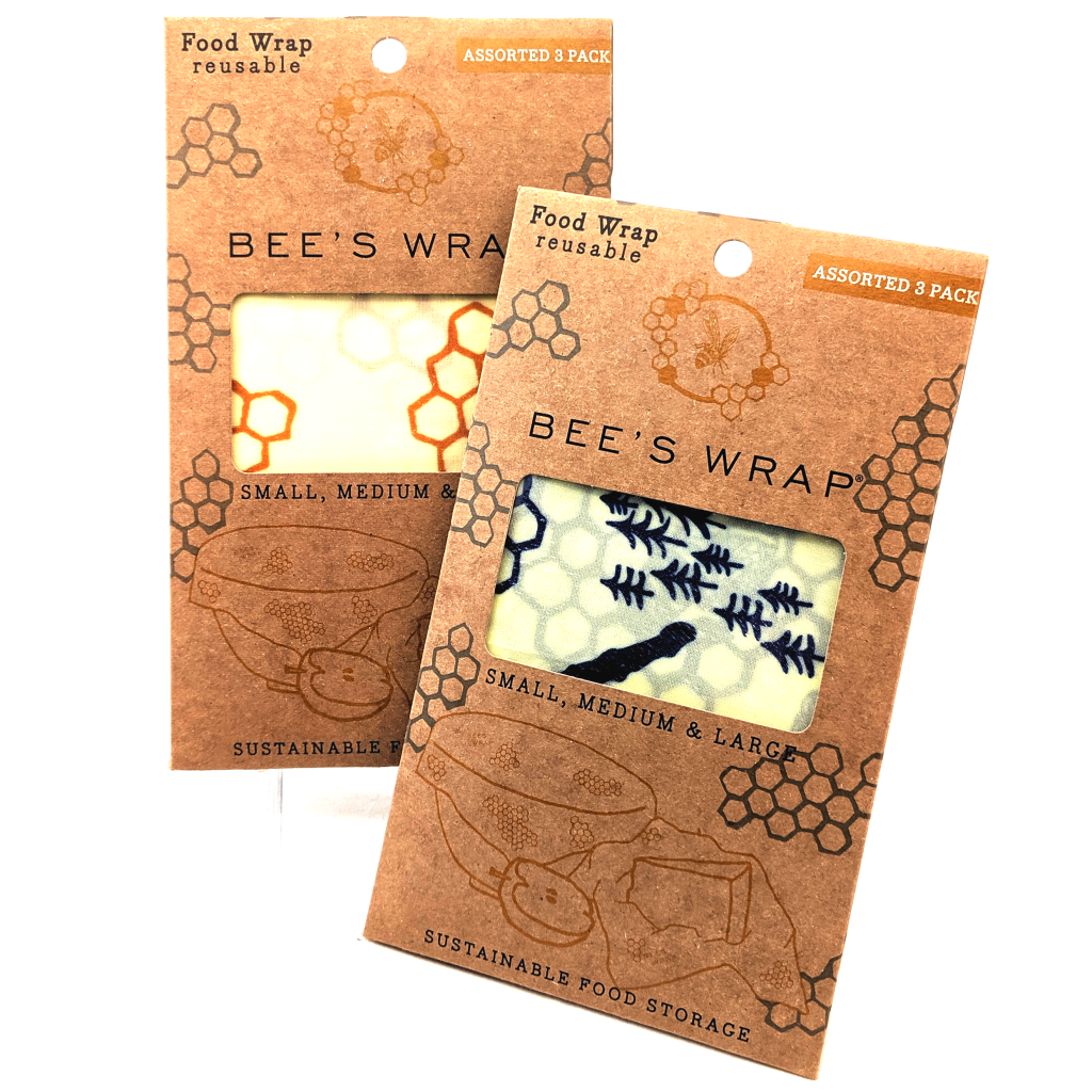 Bee's Wrap: Reusable Food Storage (3-Pack)