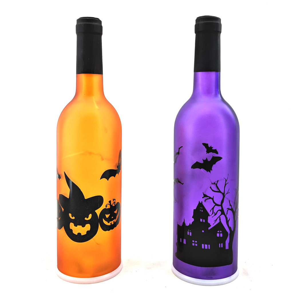 Halloween Light-Up Bottles