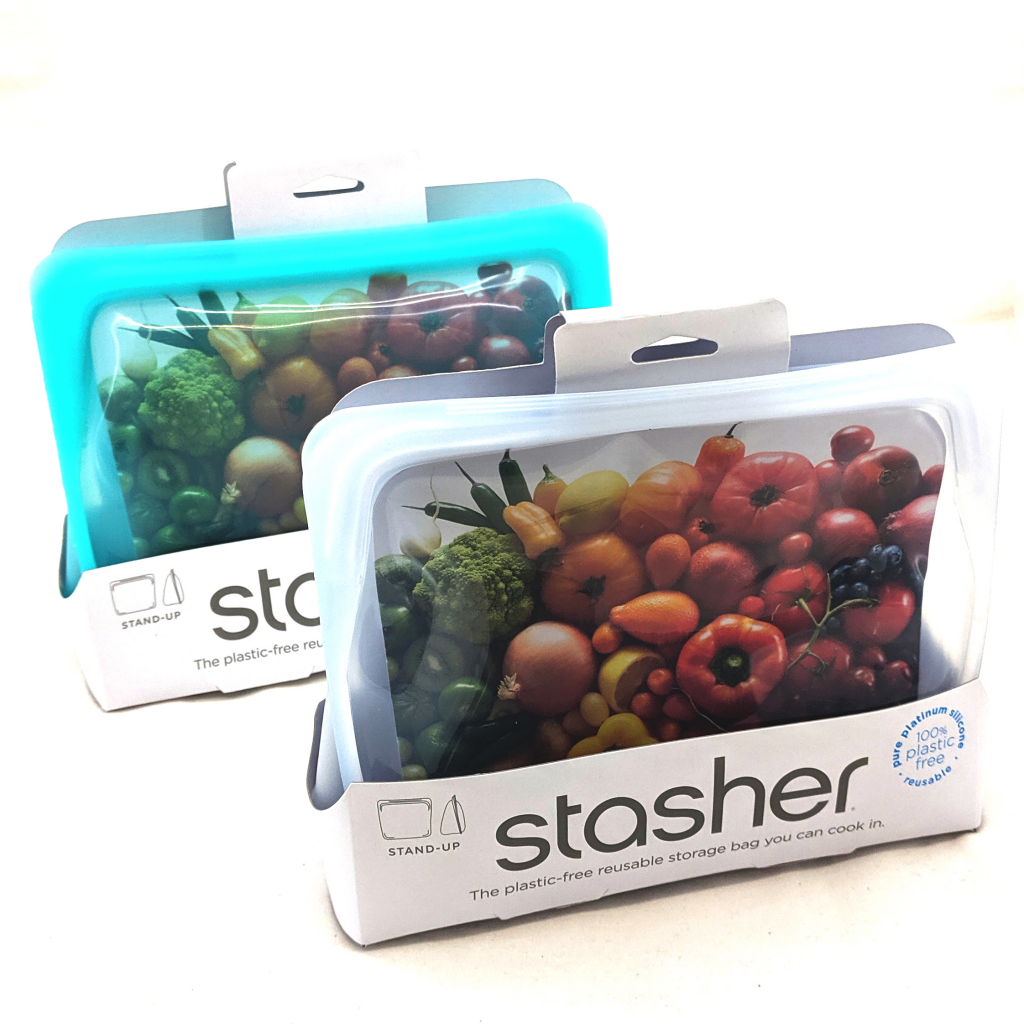 Stasher Reusable Stand-Up Food Bags (1.66L)