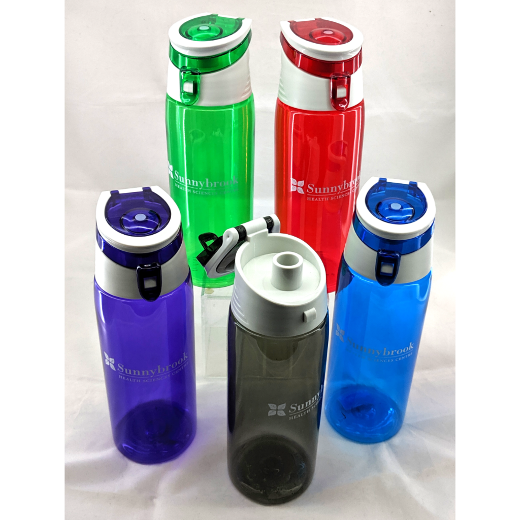 Sunnybrook Flip-Top Plastic Water Bottle