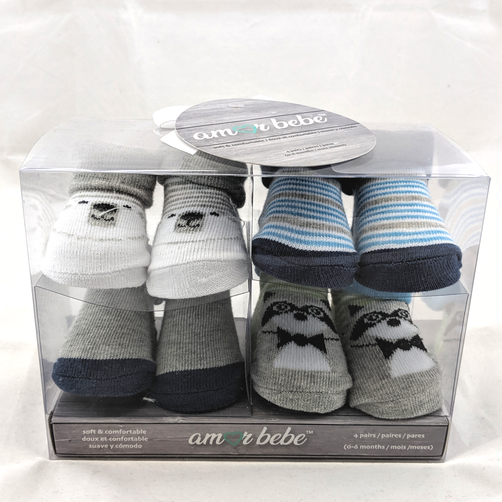 Baby Sock Set (Blue)
