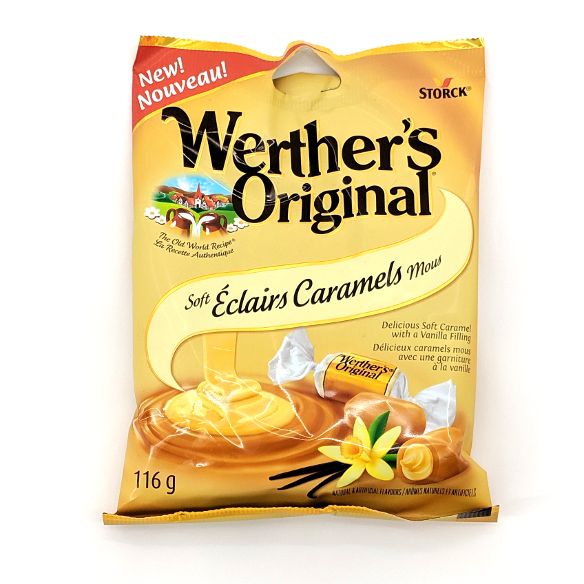 Werther's Original: Soft Éclairs (116g)
